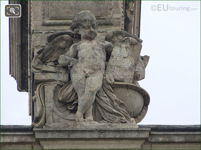 L'Astronomie Statue West Facade Aile En Retour Turgot