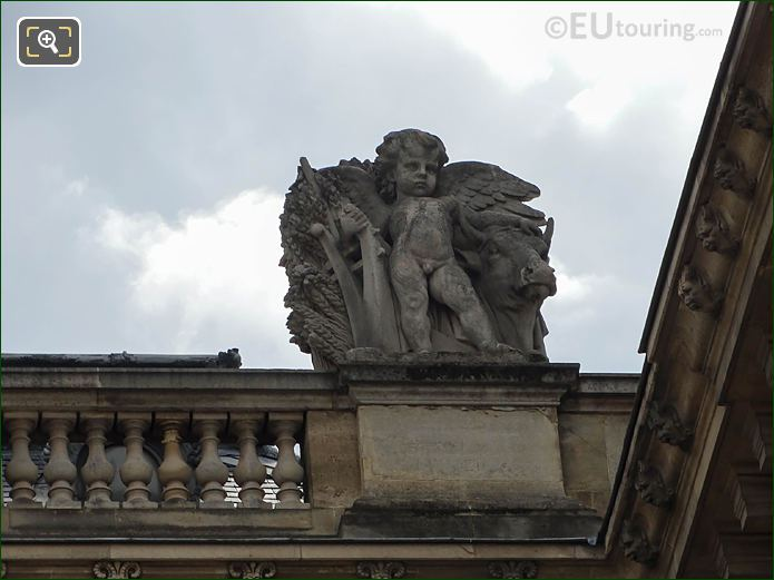 Aile Retour Turgot L'Agriculture Statue Musee Louvre