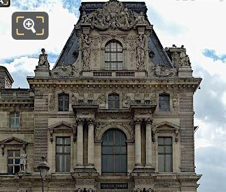 West Facade Pavillon Turgot L'Histoire Et La Poesie