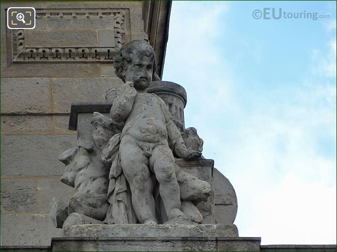 L'Europe Statue On Aile En Retour Mollien At Musee Du Louvre