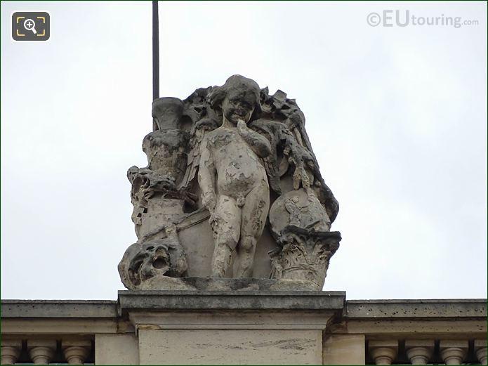 L'Art Grec Statue Aile En Retour Mollien Musee Louvre