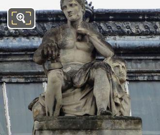 La Sculpture By Sculptor Auguste Dumont