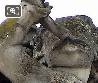 La Chasse Statue By Aime Napoleon Perrey
