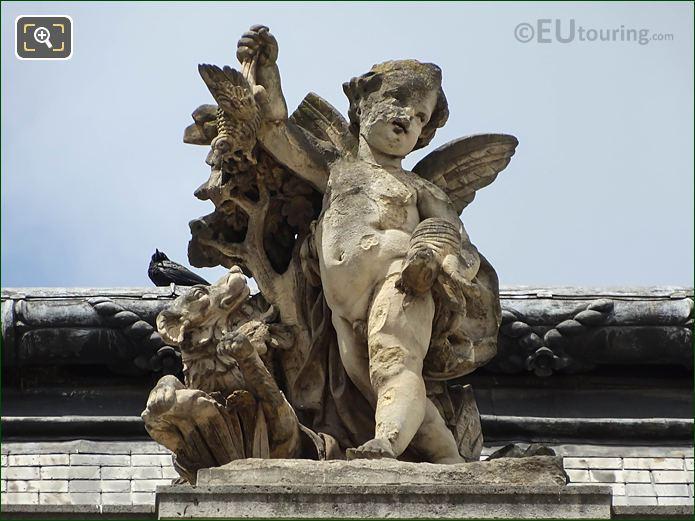 Le Retour De La Chasse Statue Pavillon Des Etats