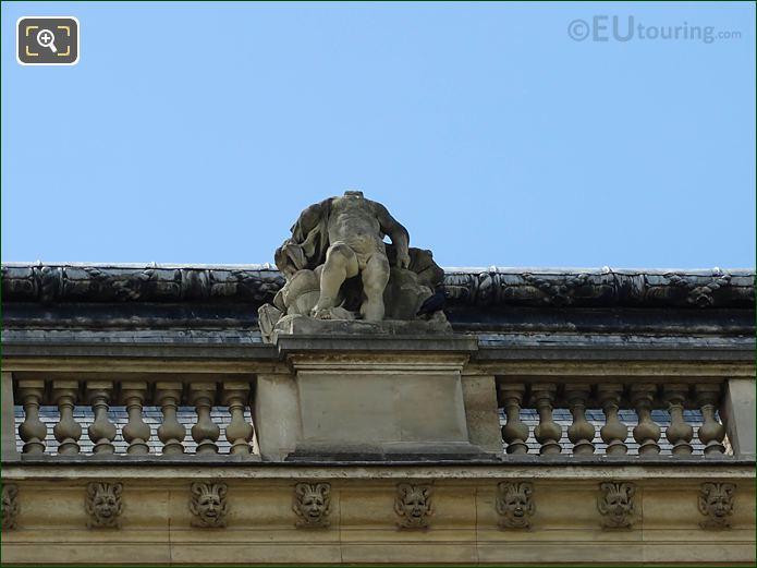Mer Statue Pavillon Des Etats Musee Louvre