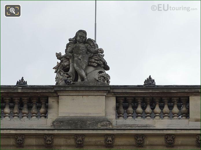 L'Abondance Statue Aile Mollien Musee Louvre