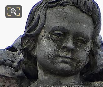 L'Abondance Statue By Jules Charles Dubois