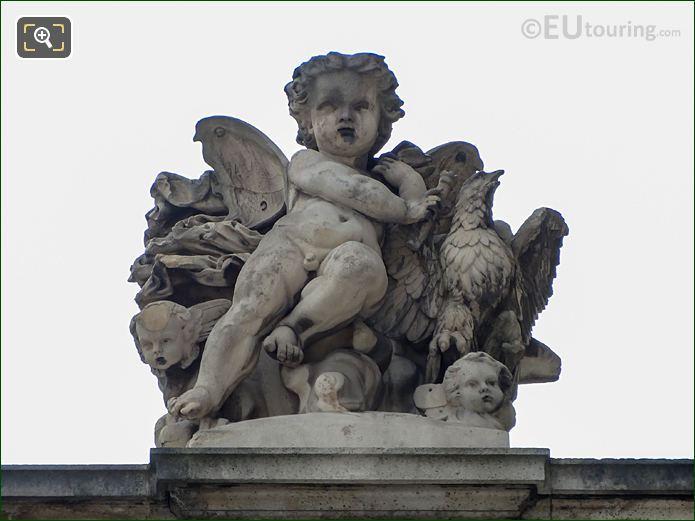 L'Air Statue Aile Daru Musee Du Louvre