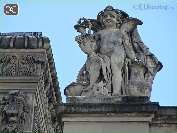 La Ceramique Statue Rotonde d'Apollon Musee Du Louvre