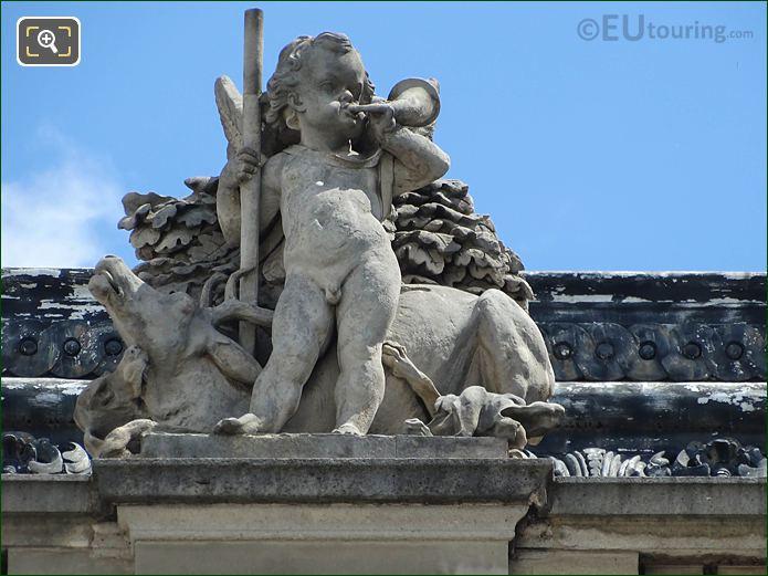 La Chasse Statue Aile Henri II Musee Louvre