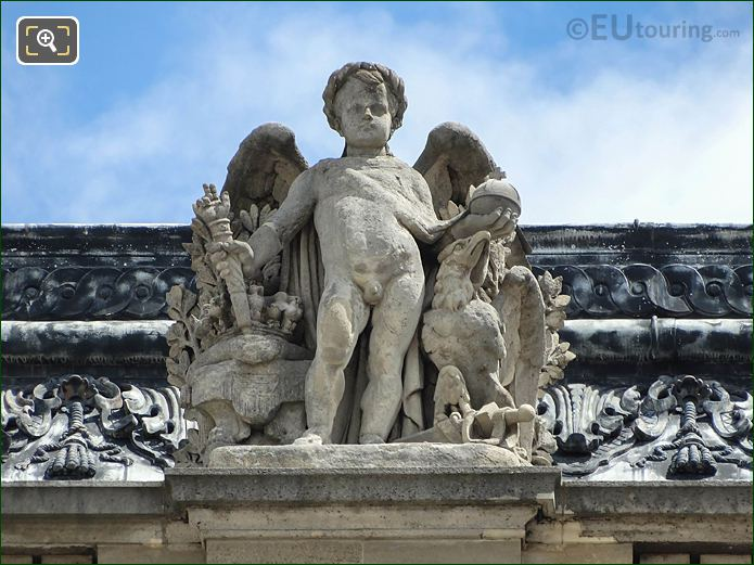 L'Empire Statue Aile Henri II Musee Louvre