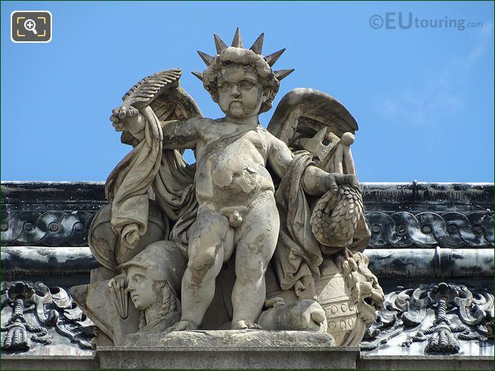Les Gloires De La France Statue Aile Henri II Musee Louvre