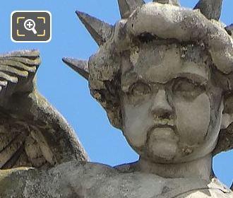 Les Gloires De La France Statue By Henri C Maniglier