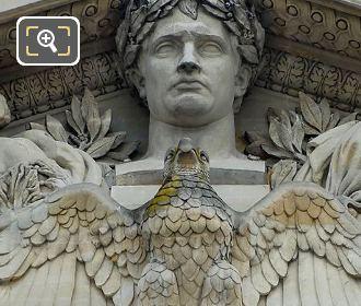 Eagle On Napoleon 1er Dominant l'Histoire Et Les Arts