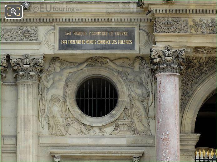 La Beaute Et l'Art Sculpture Pavillon Sully