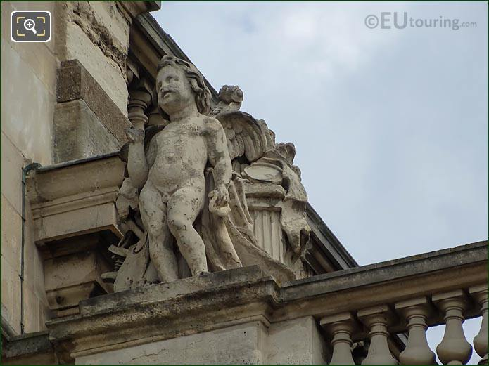 La Musique Statue By Antoine Samuel Adam-Salomon