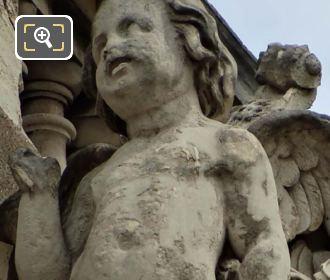 Close Up Of La Musique Statue