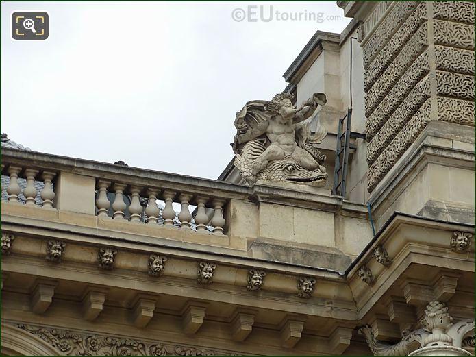 La Mer Statue Rotonde De Beavais Musee Du Louvre