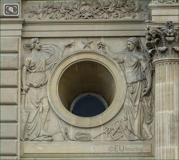 La Navigation Commerciale Et La Mecanique Sculpture Pavillon Colbert