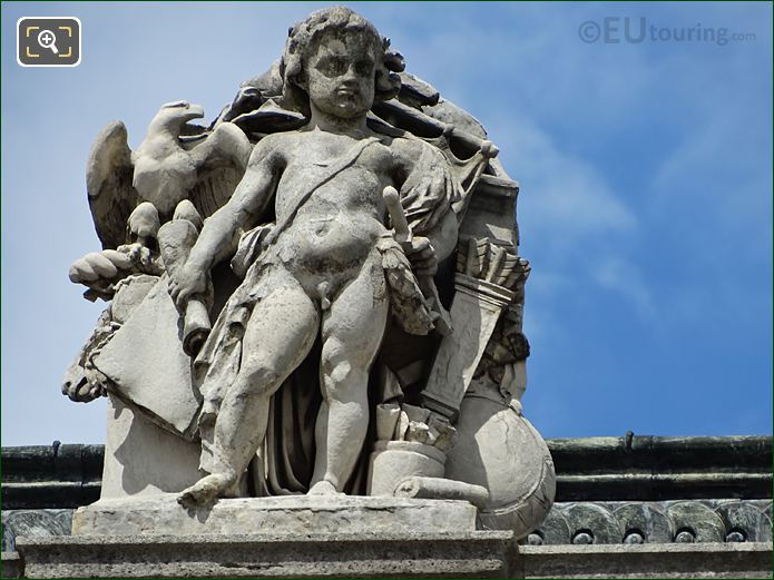 L'Art Romain Statue Aile Colbert Musee Louvre