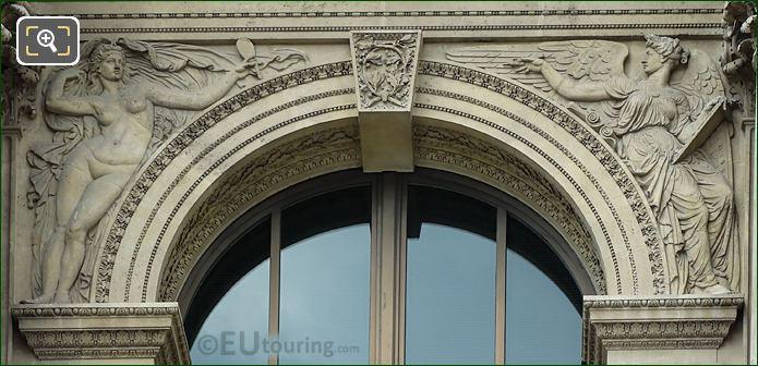 Verite Et Histoire Sculpture By Charles Lebourg