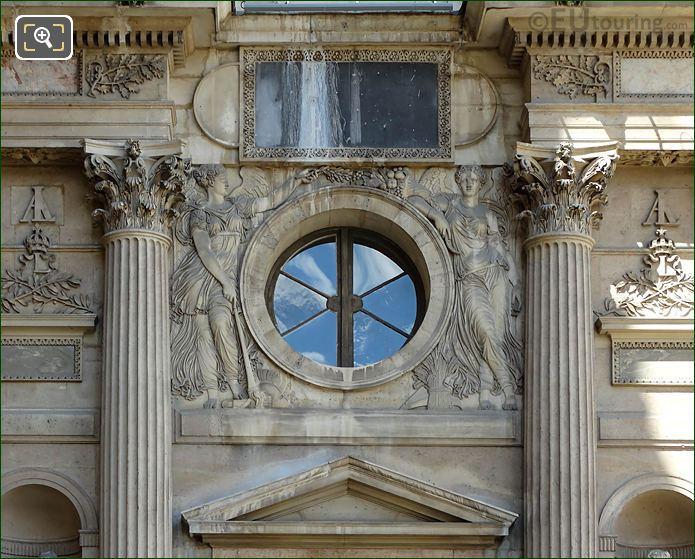 La Paix Et l'Abondance Aile Nord Musee Du Louvre