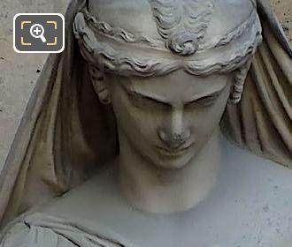 Sapho Statue By Pierre Loison