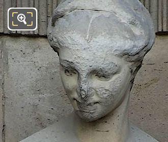 Litterature Satirique Statue By Roland Mathieu-Meusnier