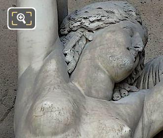 Phryne Statue By Louis Elias Robert