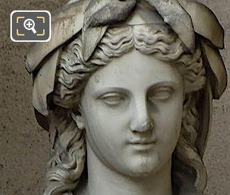 Marble Amphitrite Statue By Francois Devaulx