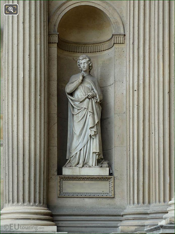 Art Chretien Statue Aile Nord Musee Du Louvre