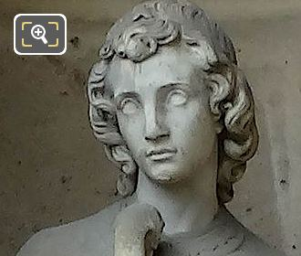 Art Chretien Statue By Emile Chatrousse