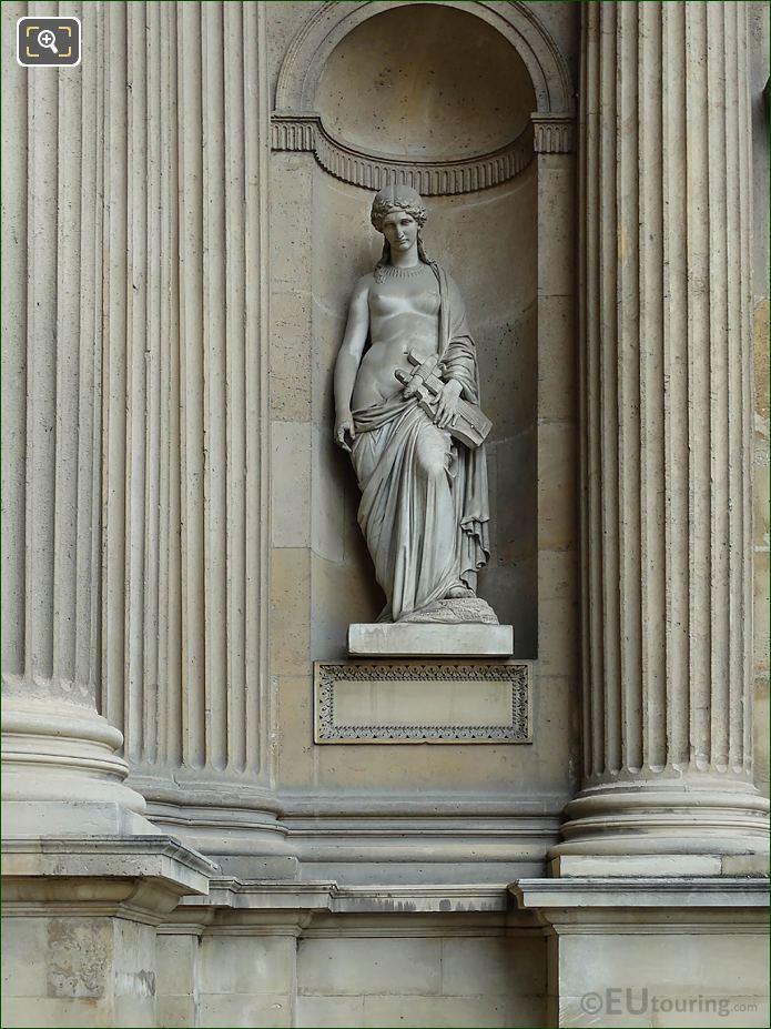 Sapho Statue Aile Est Musee Du Louvre