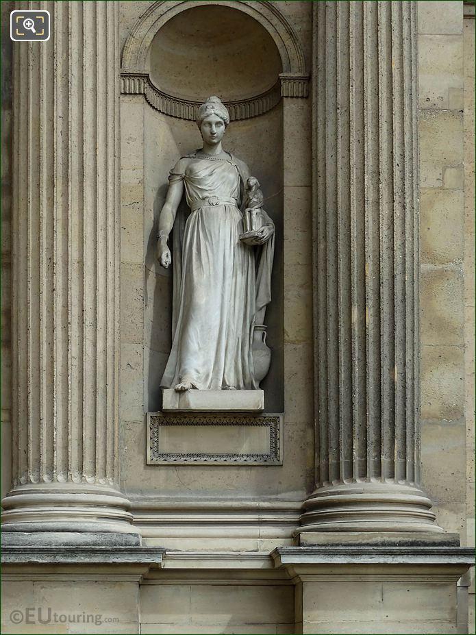 Archeologie Statue Aile Est Musee Du Louvre