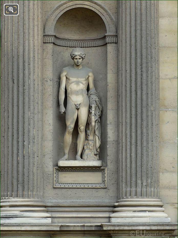 Orphee Statue Aile Est Musee Du Louvre