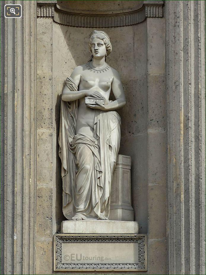 Marble Pandore Statue Aile Est Musee Du Louvre