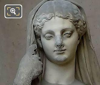 Modestie Statue By Louis Leopold Chambard