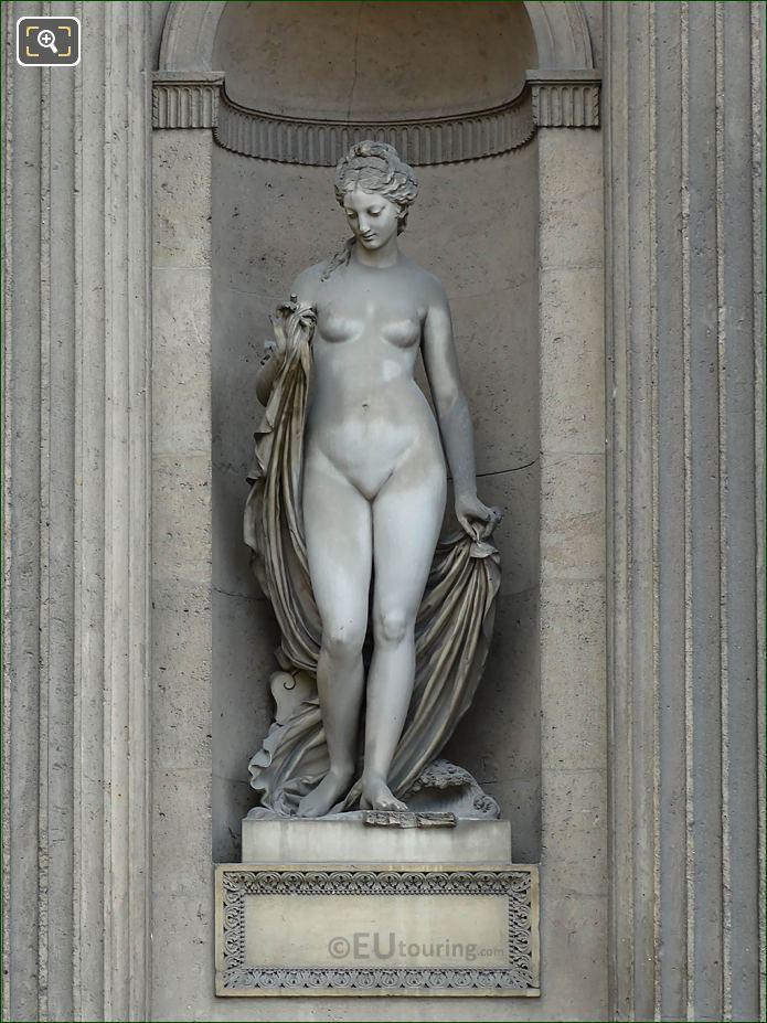 Marble Leucothea Statue Aile Sud Musee Du Louvre