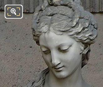 Leucothea Statue By Jean Jules Allasseur