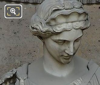 Marble Statue Reconnaissance By Ferdinand Taluet