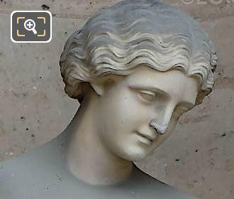 Couronne De Fleurs Statue By Marie-Louise Lefevre-Deumier