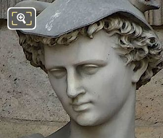 Mercure Statue By Aime Millet