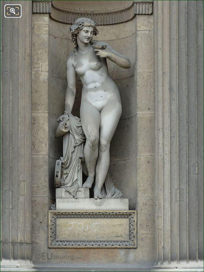 Marble Bacchante Statue Aile Sud Musee Du Louvre