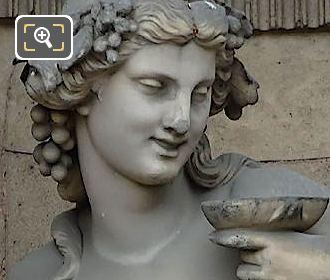 Bacchante Statue By Pierre Alexandre Schoenewerk