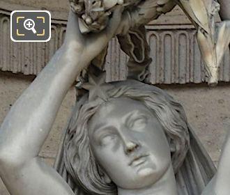 Gloire Statue By Victor Edmond Leharivel-Durocher