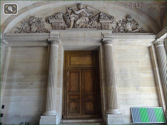 La Justice Sculpture Aile Est Musee Du Louvre