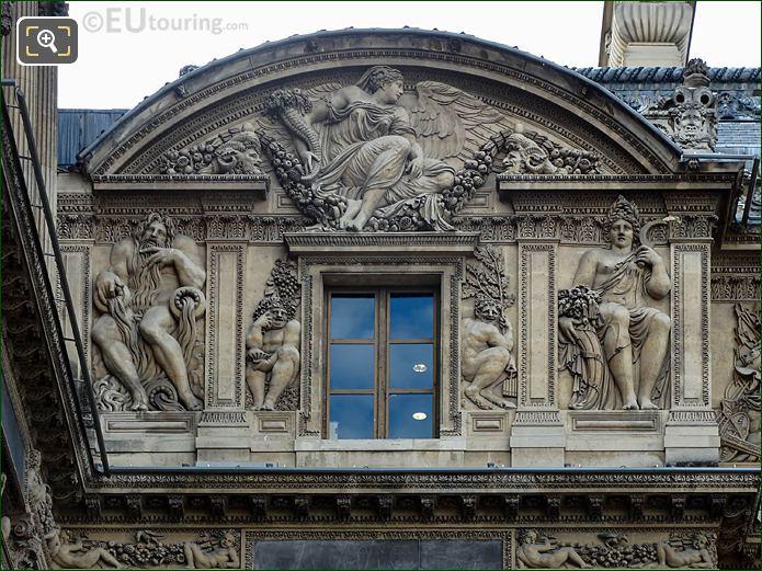 Paix Ou Abondance Aile Lescot Musee Du Louvre
