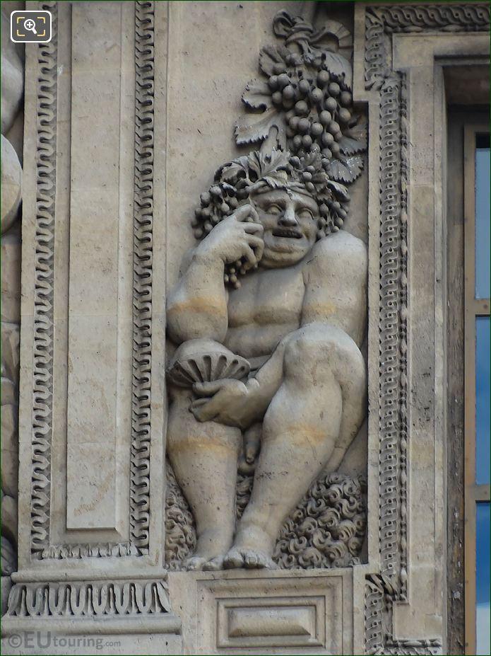 Bacchus Sculpture By Jean Goujon