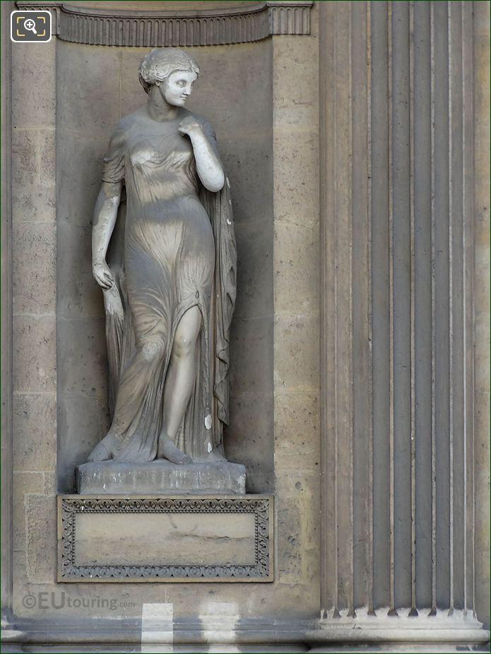 Helene Statue Aile Lescot Musee Du Louvre
