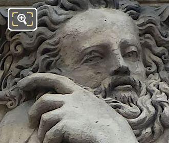 Archimedes Sculpture By Jean Goujon